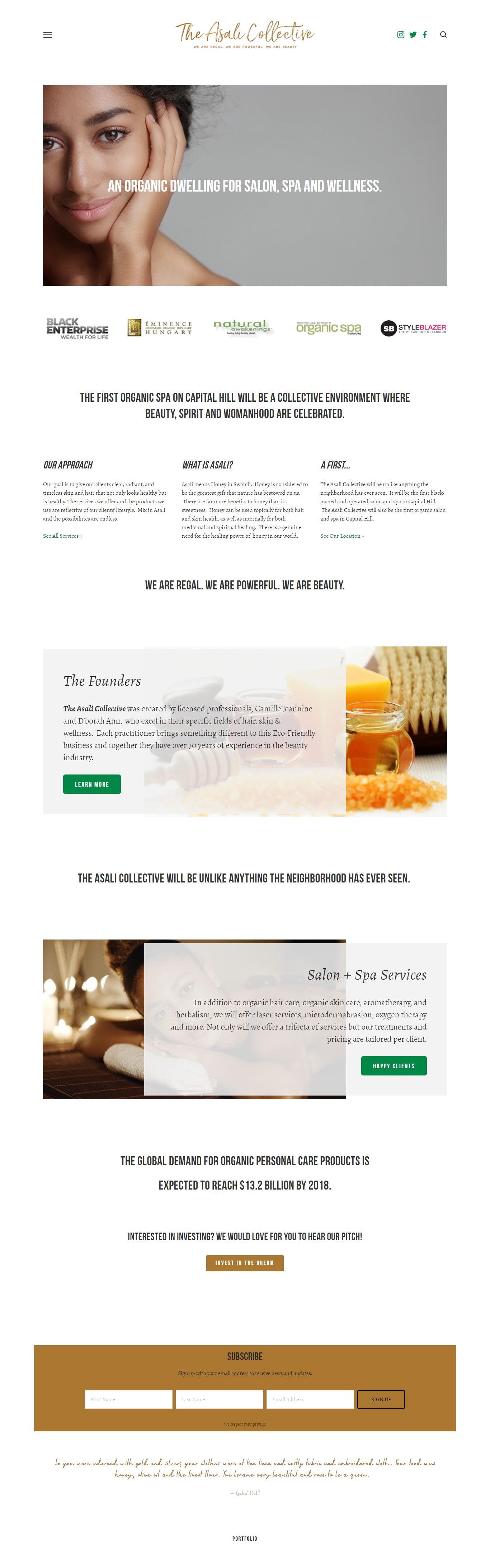 organic salon website design .png