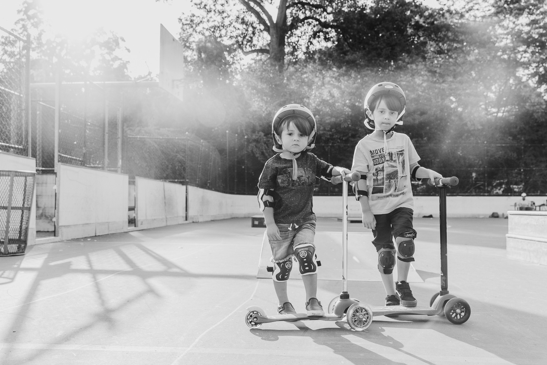 photos at a skate park