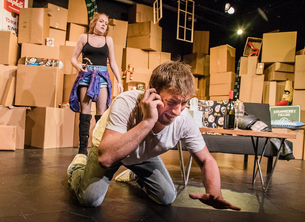 Two Minute Kenneth, Ashton Foster as Nancy, Patrick Brian Scherrer as Eugene