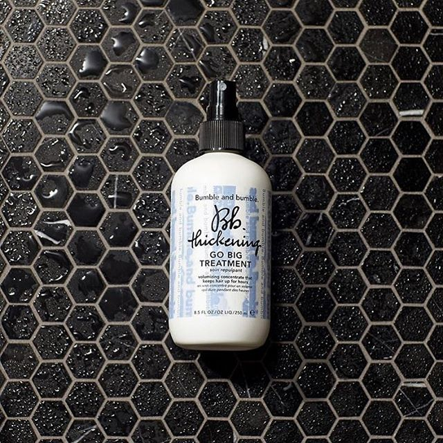 Go big. Plump it up. With the new bumble and bumble Go Big Treatment. . . #bumbleandbumble#shoplocal#charlestonshopping#charlestonsalon#charlestonsalon