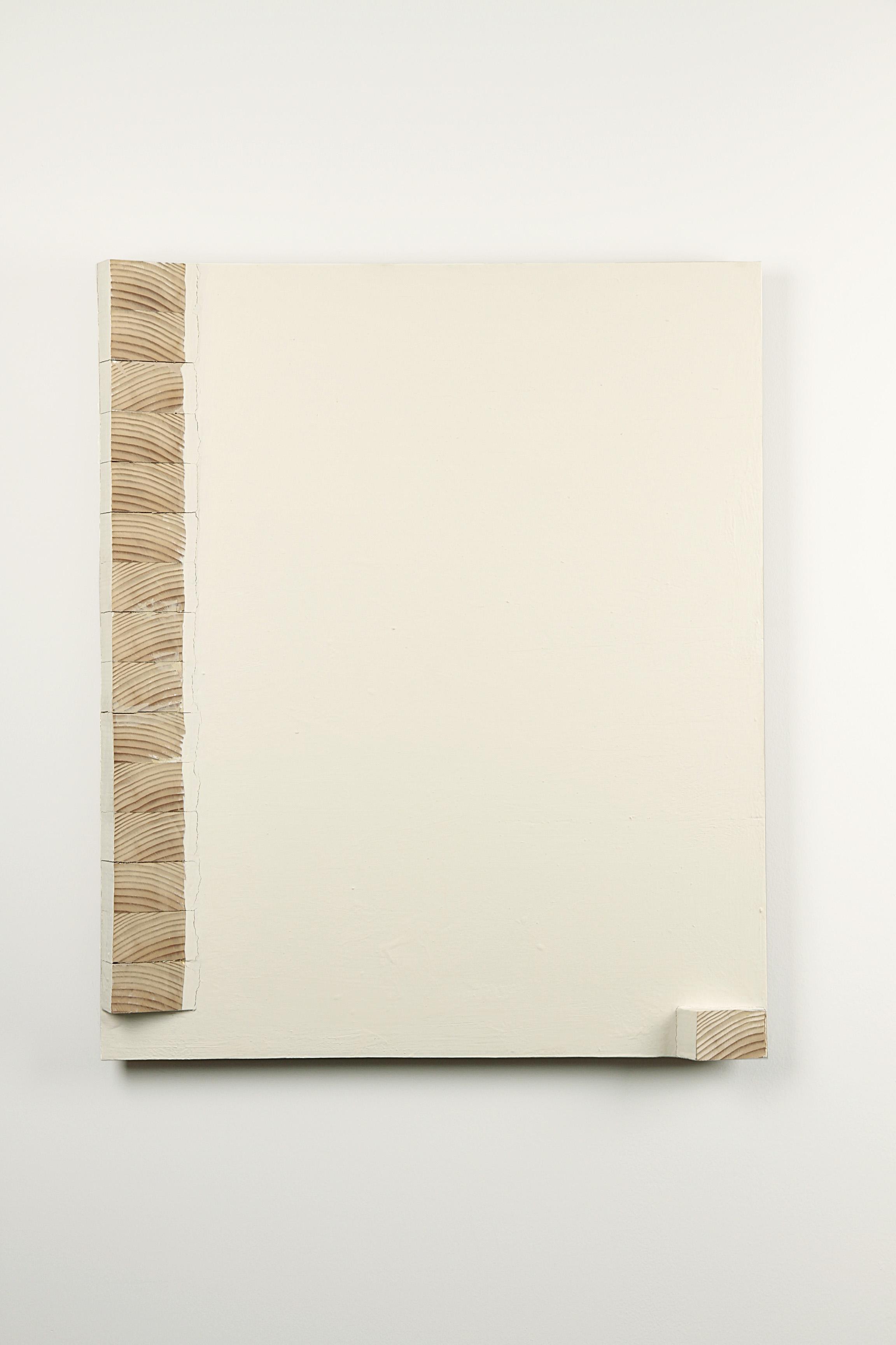 Okitate    Oil, wood 75 x 62.5 cm 1994