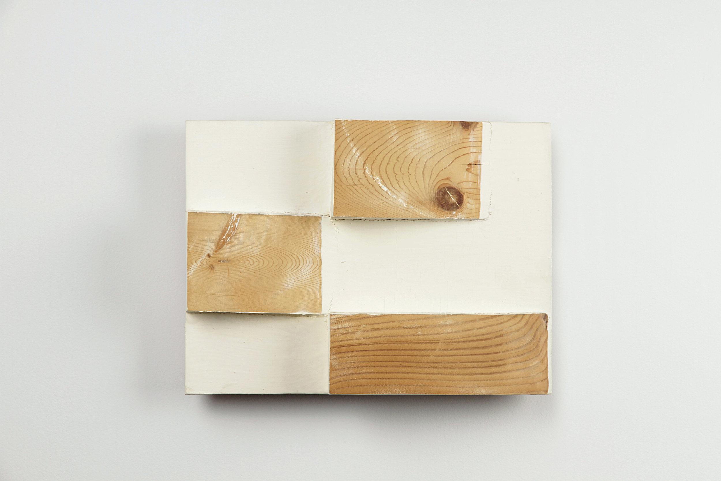 Genshutsu    Oil, wood 24.5 x 32.5 cm 1994