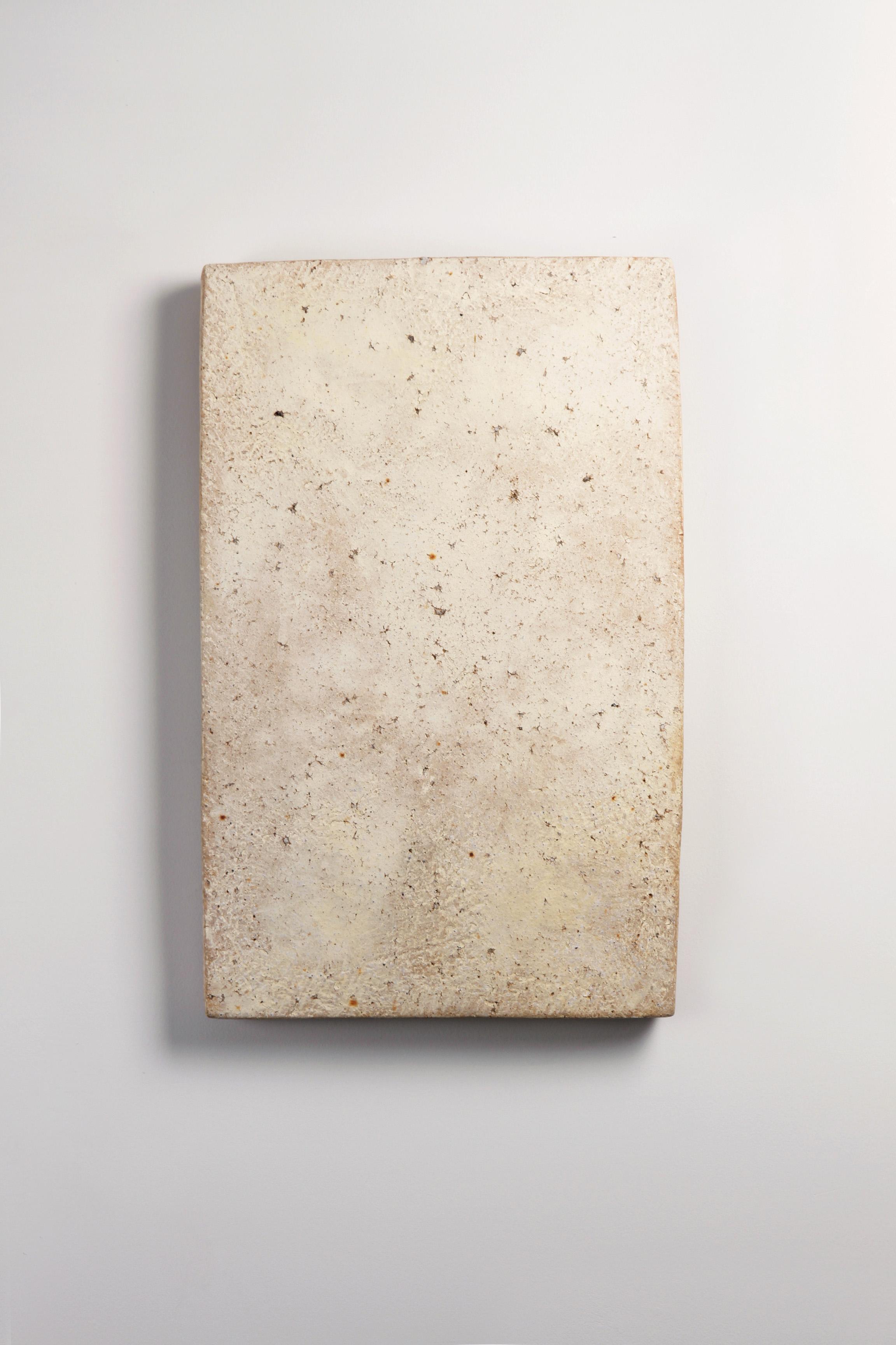 輝き   土 61 x 39 cm 2016