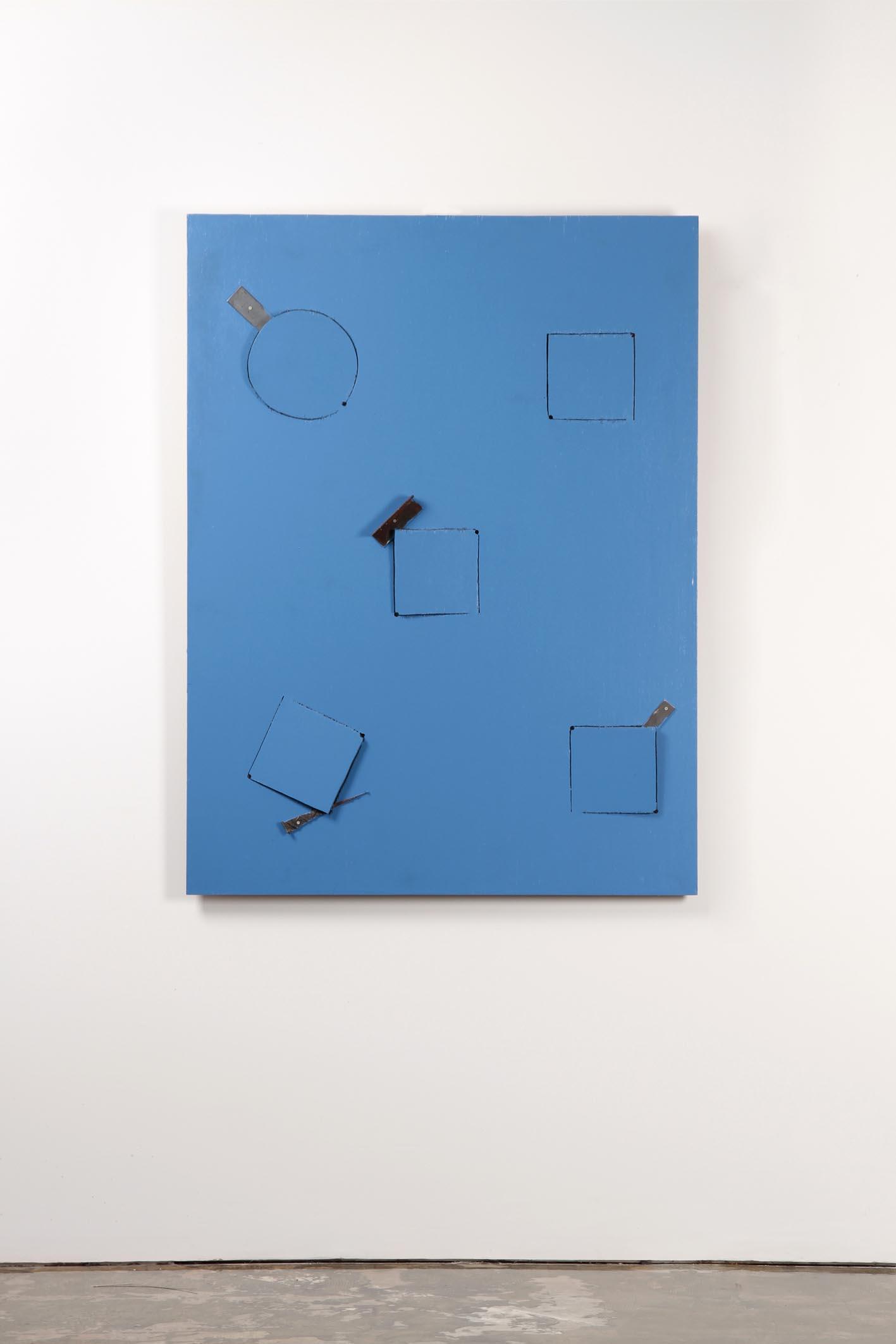 菅木志雄「構素景点支」1996年 120 x 90 cm Photograph by Jun Nomura