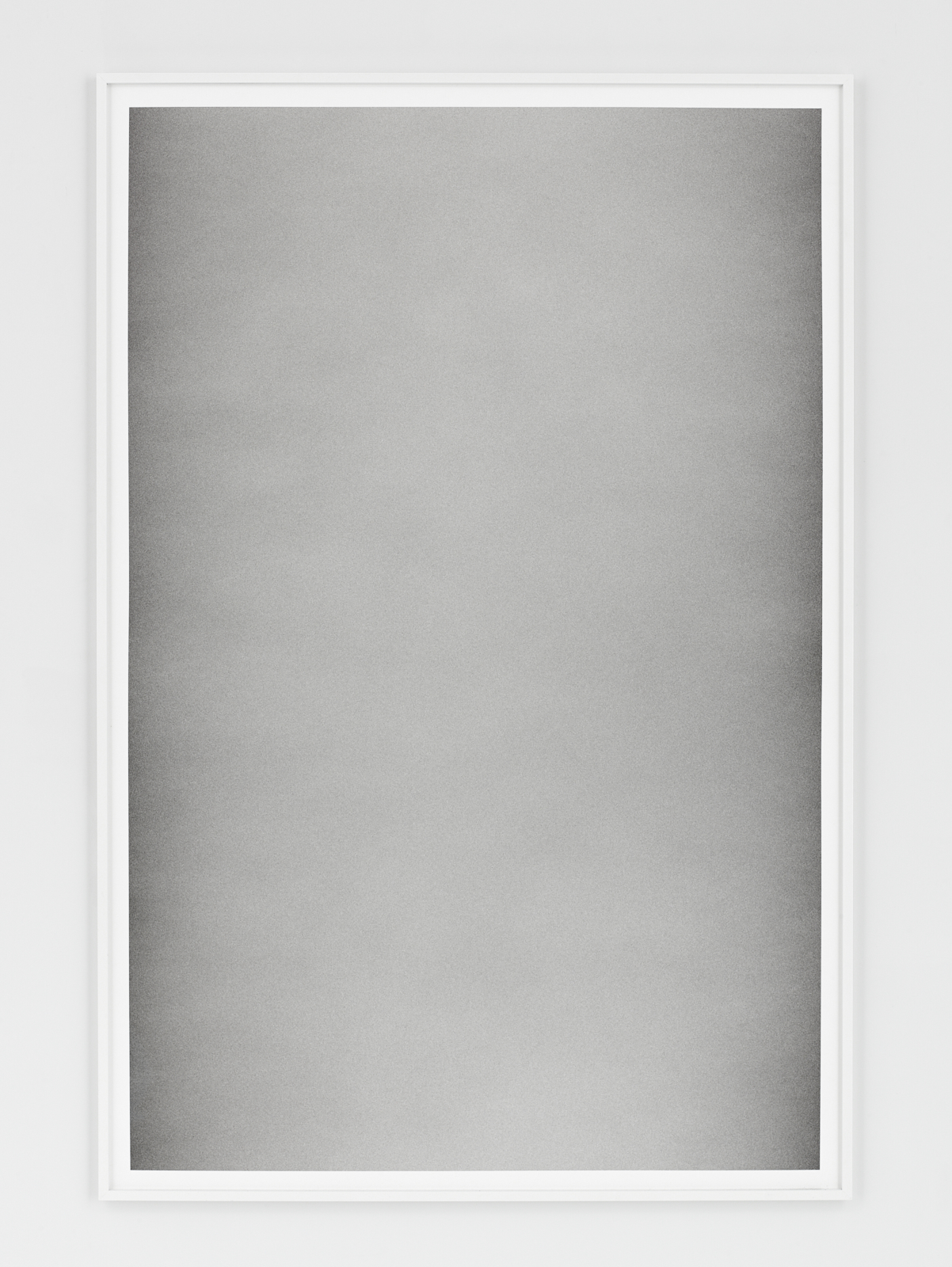 Liminal XIII    Terre de Cassel and silver graphite powder on paper 121.5x81.5 cm 2017