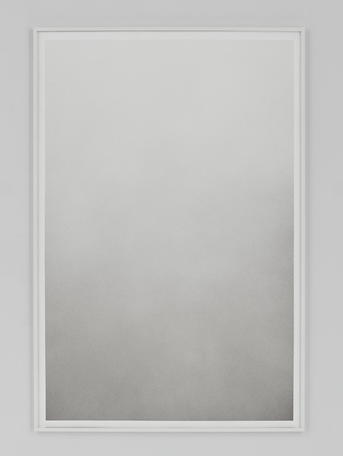 Liminal XIV    Terre de Cassel and gold powder on paper 121.5x81.5 cm 2017