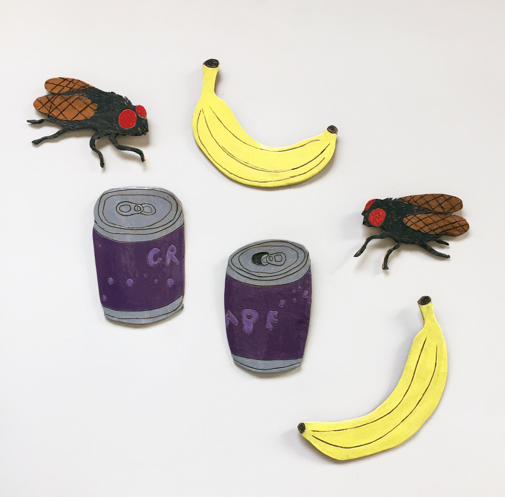 One Fly Available  Grape Sodas - SOLD  Bananas - SOLD