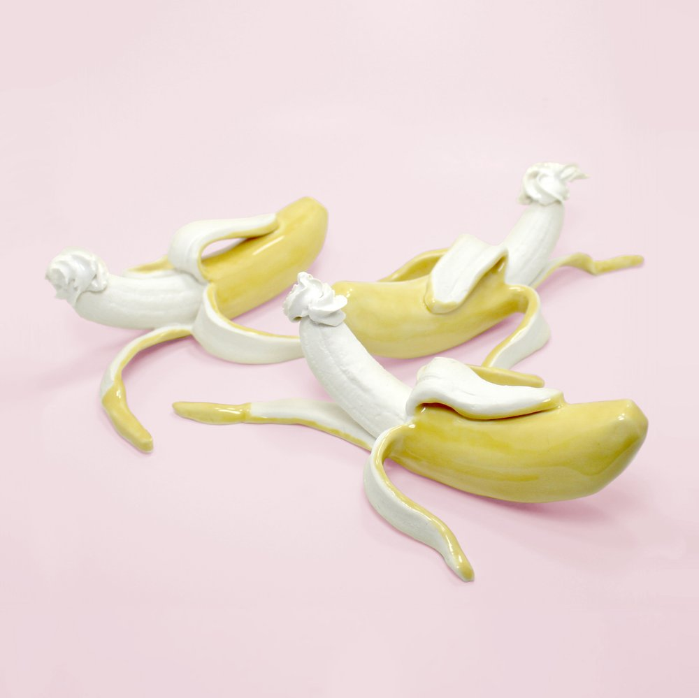 """Wall-Mounted Banana Temptation""     Original price $230"