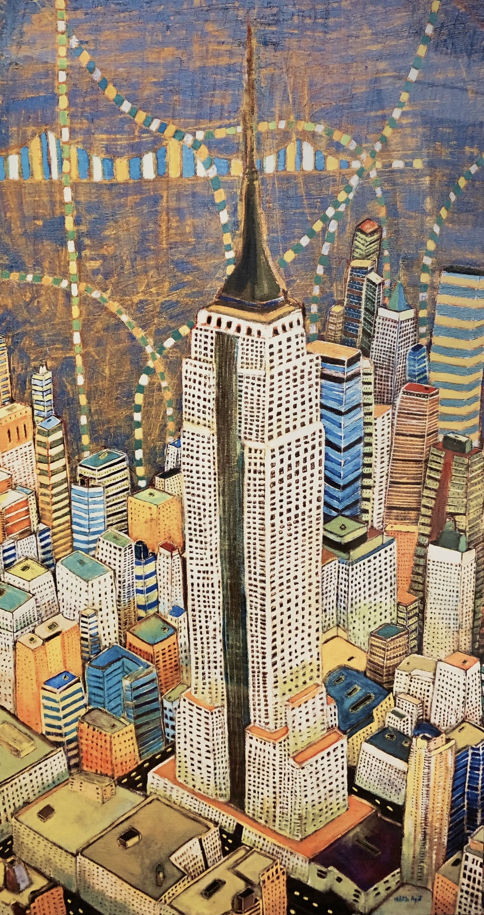 """Empire of Manhattan"", Aluminum print    Original price $1200"