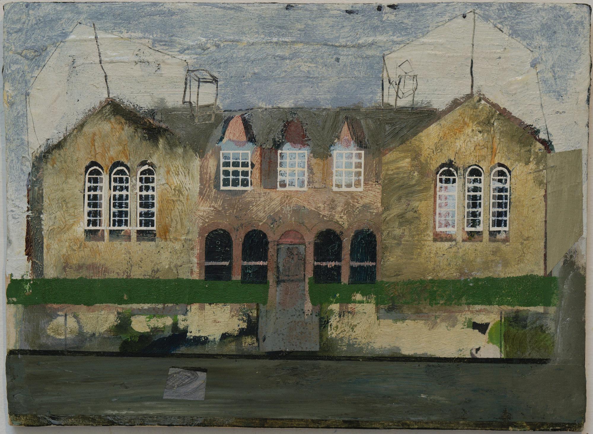 OldSchool Building c1850 - 1984