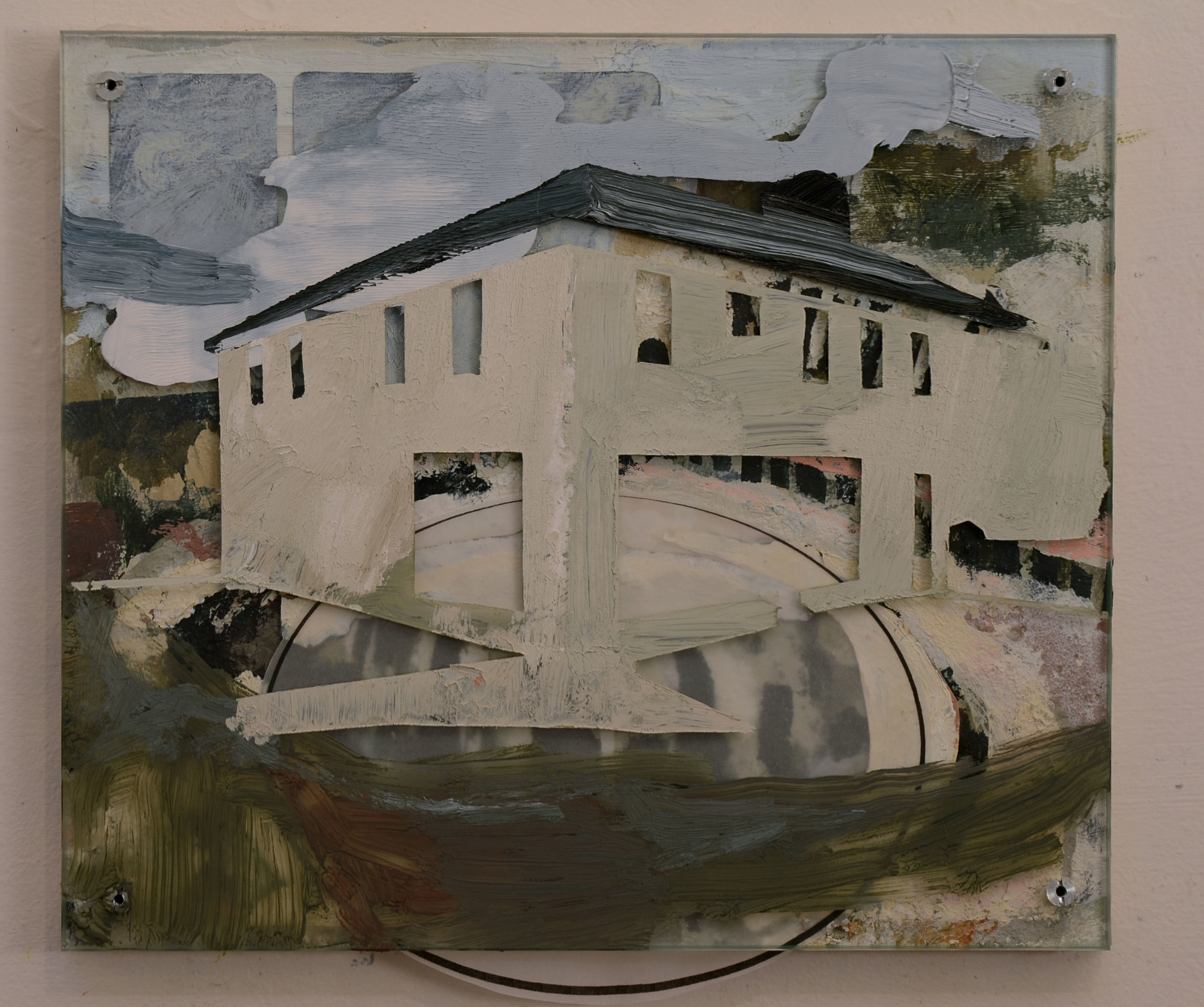 Little Settlement Painting (Former EuroStore)