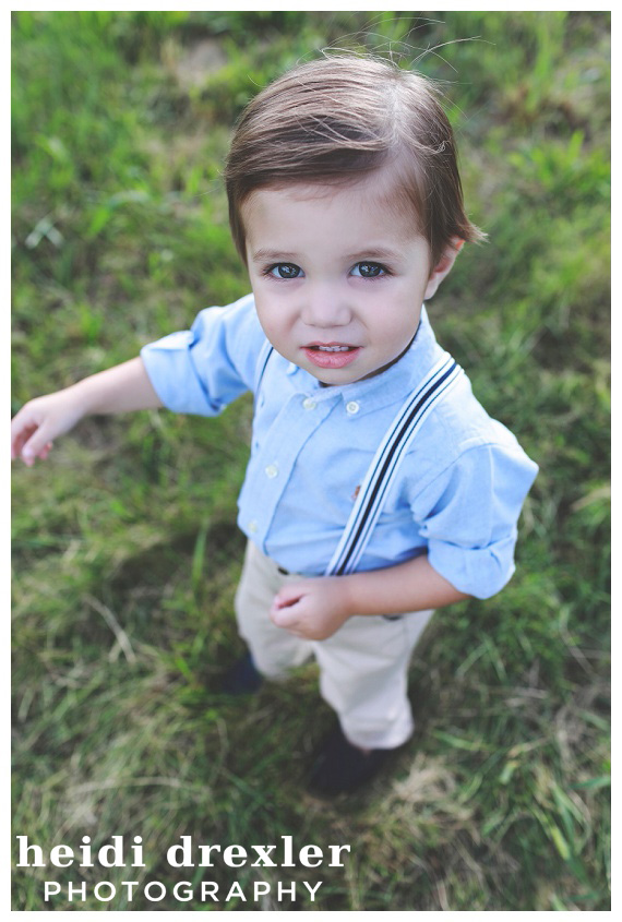 Suspenders on little boys are the absolute sweetest!