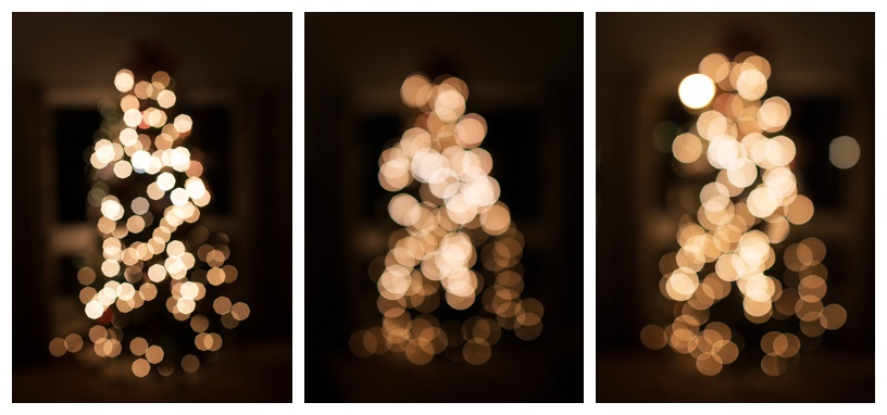 Left: Aperture 2.8, middle and right aperture 1.6