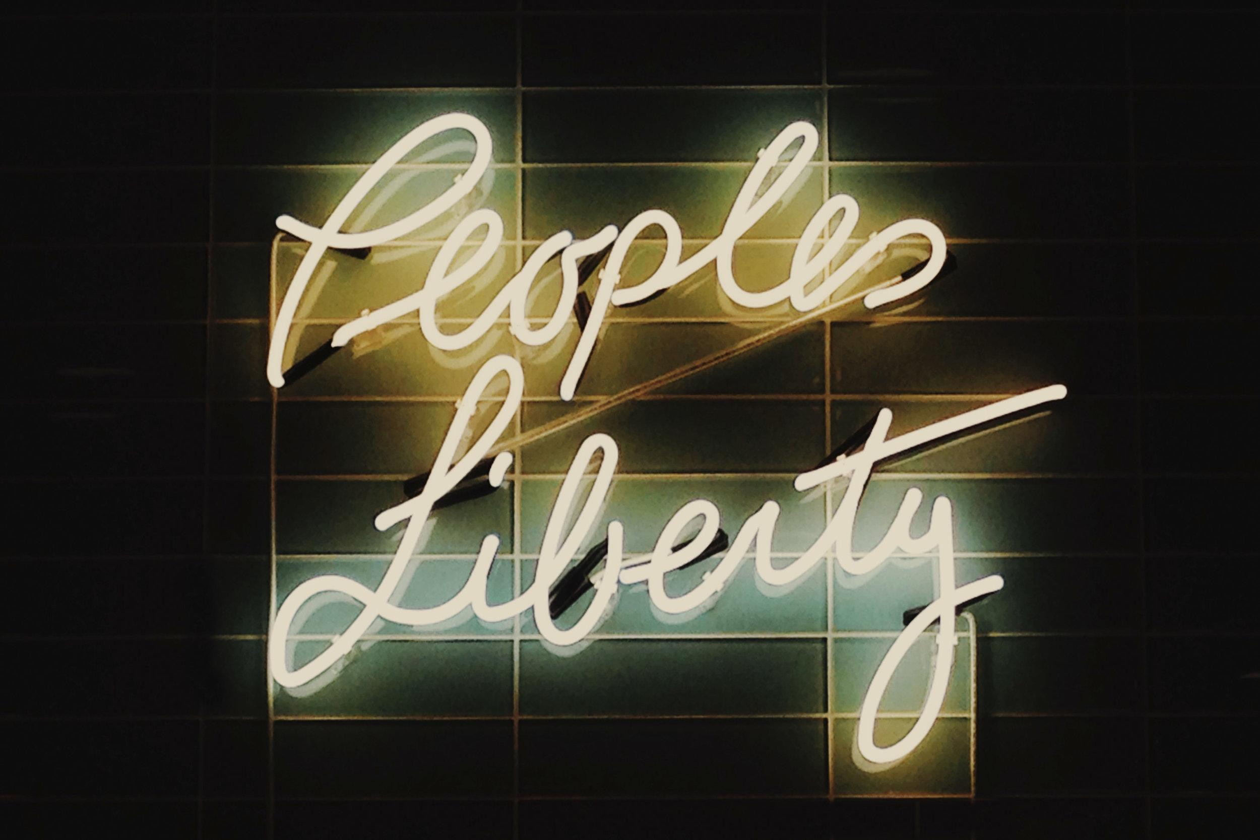 People's Liberty. Cincinnati.