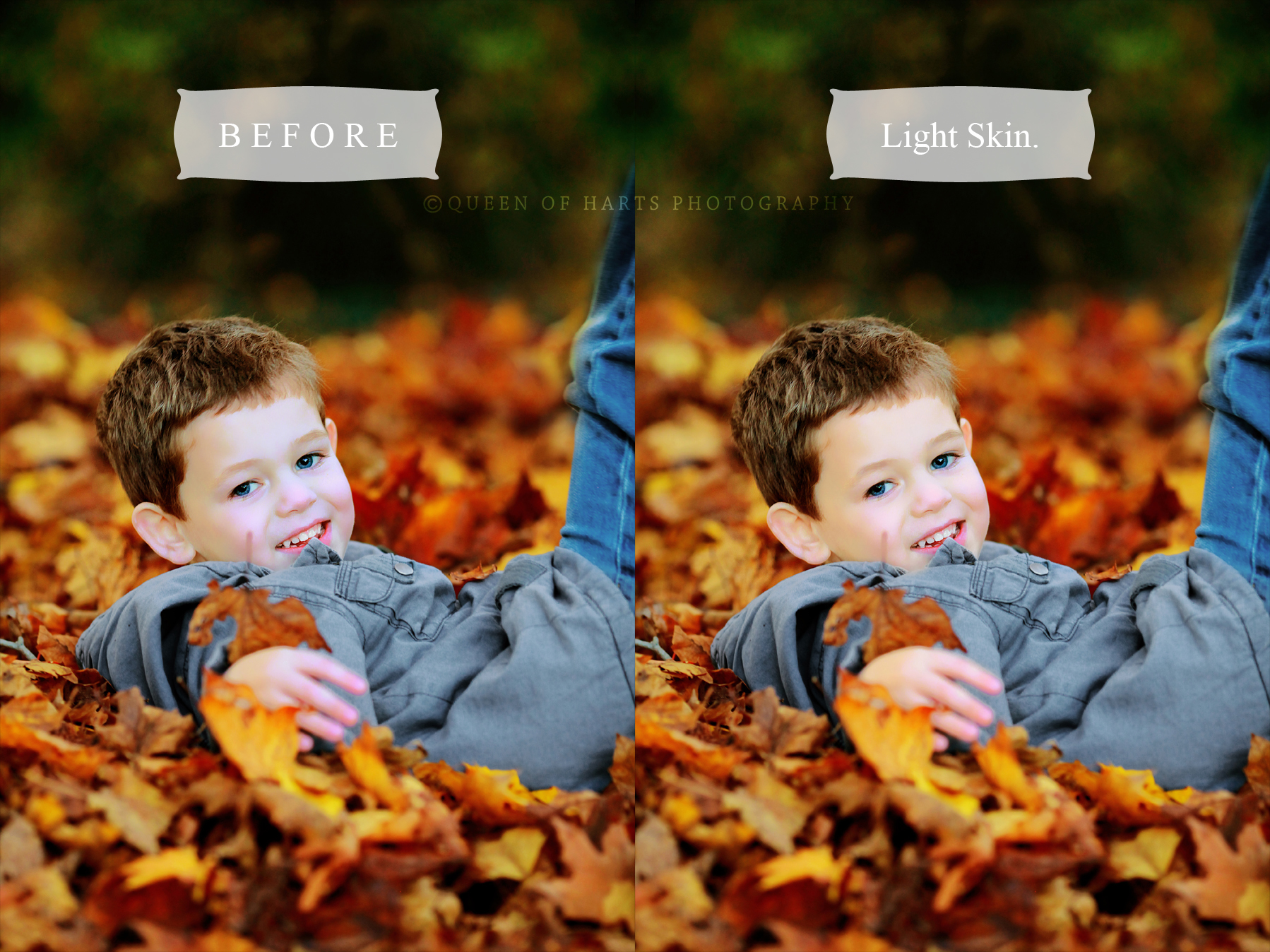 editing skin Photoshop actions