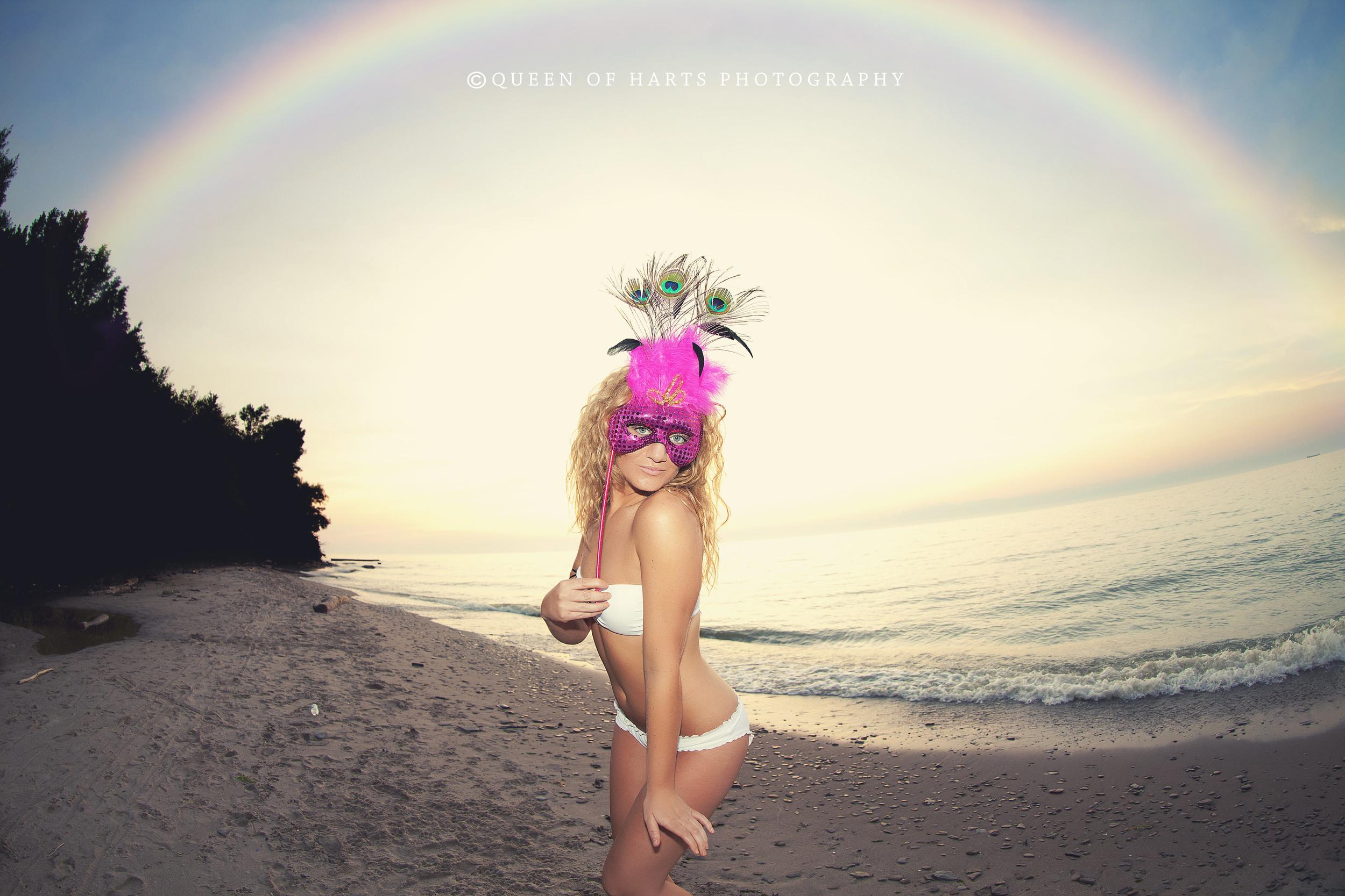 rainbow overlay magical