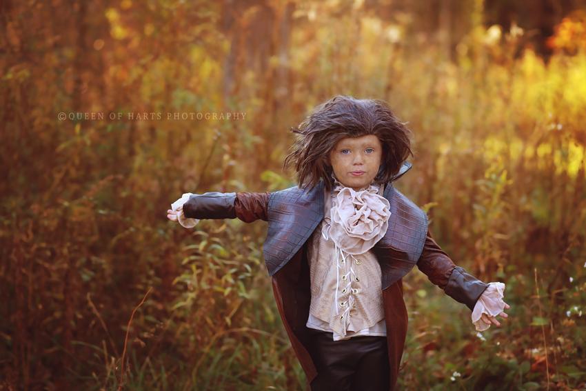 Rumplestiltskin kid costume 1