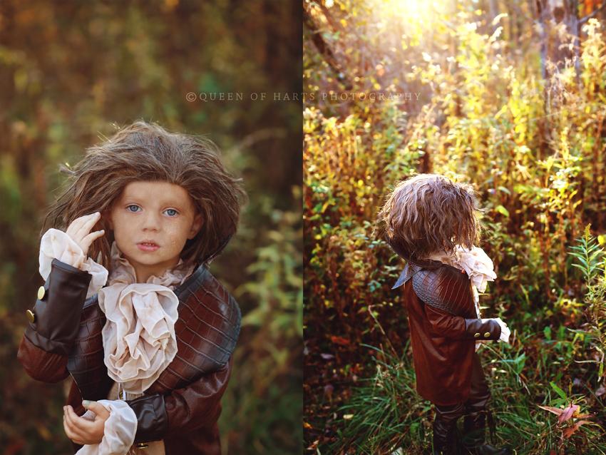 Rumplestiltskin kid costume 3