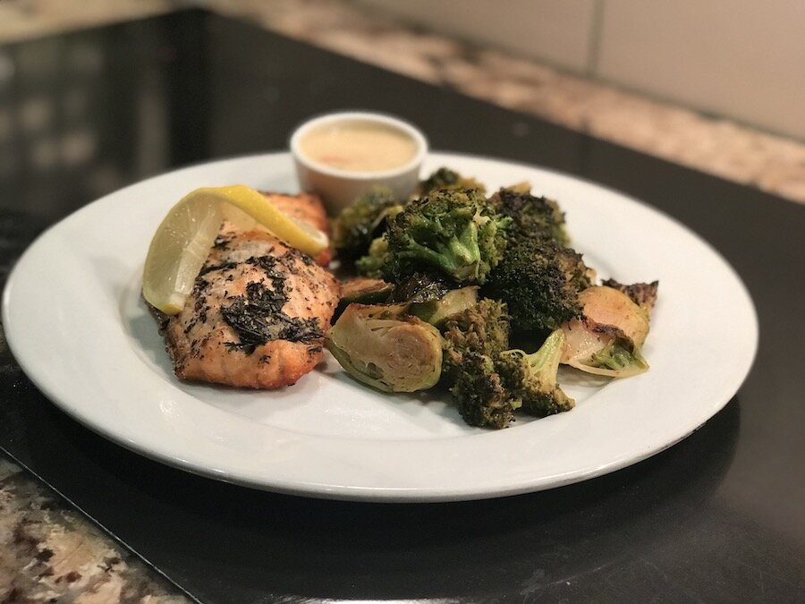 Fire Grilled Salmon