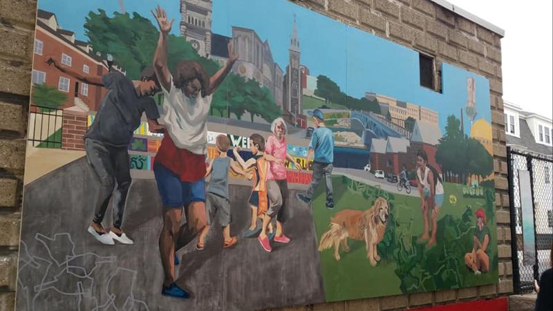 New Mural Decatur Way (2018)