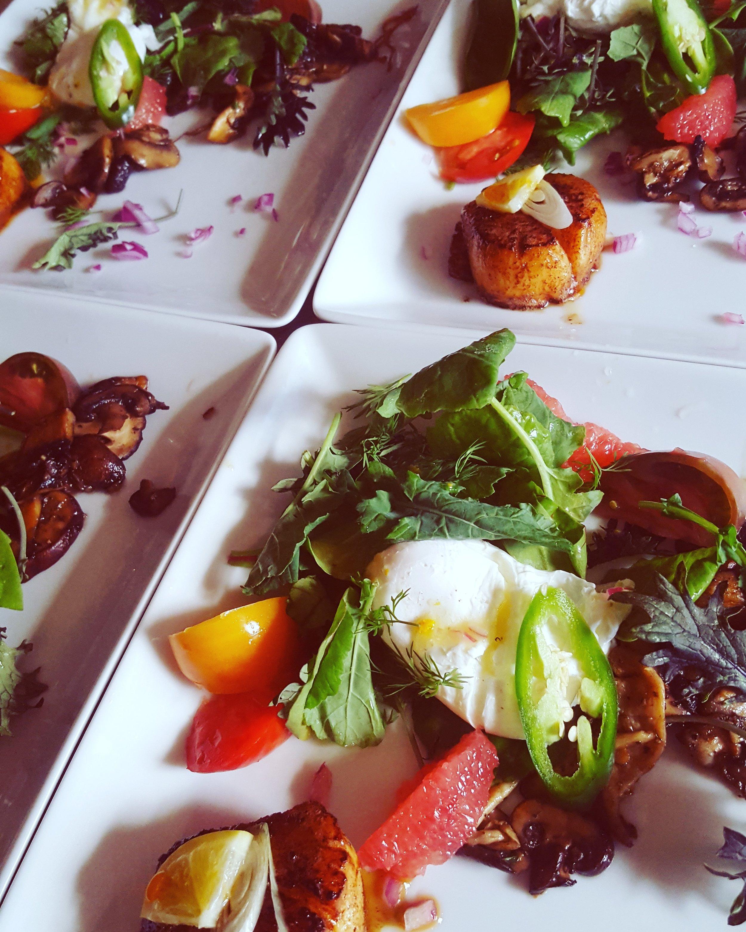 Seasonal Grilled Salads!!! -