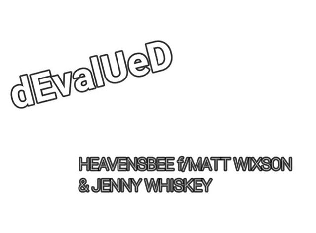 "NEW MUSIC!! Check out our NEW SINGLE ""dEvalUeD"" featuring @mattwixson & @jennywhiskey! It's the first of MANY collaborations coming for 2018. Click the link in our bio for more... #heavensbee #newsingle #newvideo #collaboration #mattwixson #jennywhiskey #2018 #devalued #subliminalmessages"