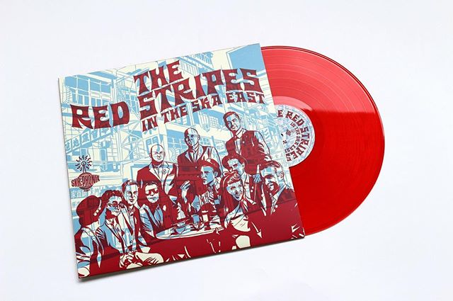 "@the_red_stripes ""In The Ska East' delivered today on skankin' red vinyl with our exclusive dub reggae remix of ""Gonna Fly Now (Theme From Rocky)."" Available direct from the Stripes website or at an upcoming gig.  www.theredstripeshk.com @rudeboyroger1 @jennywhiskey @lilgershwin @marcoonthebass #reggae #remix #collaboration #musicislife #dubreggae #saxophone"