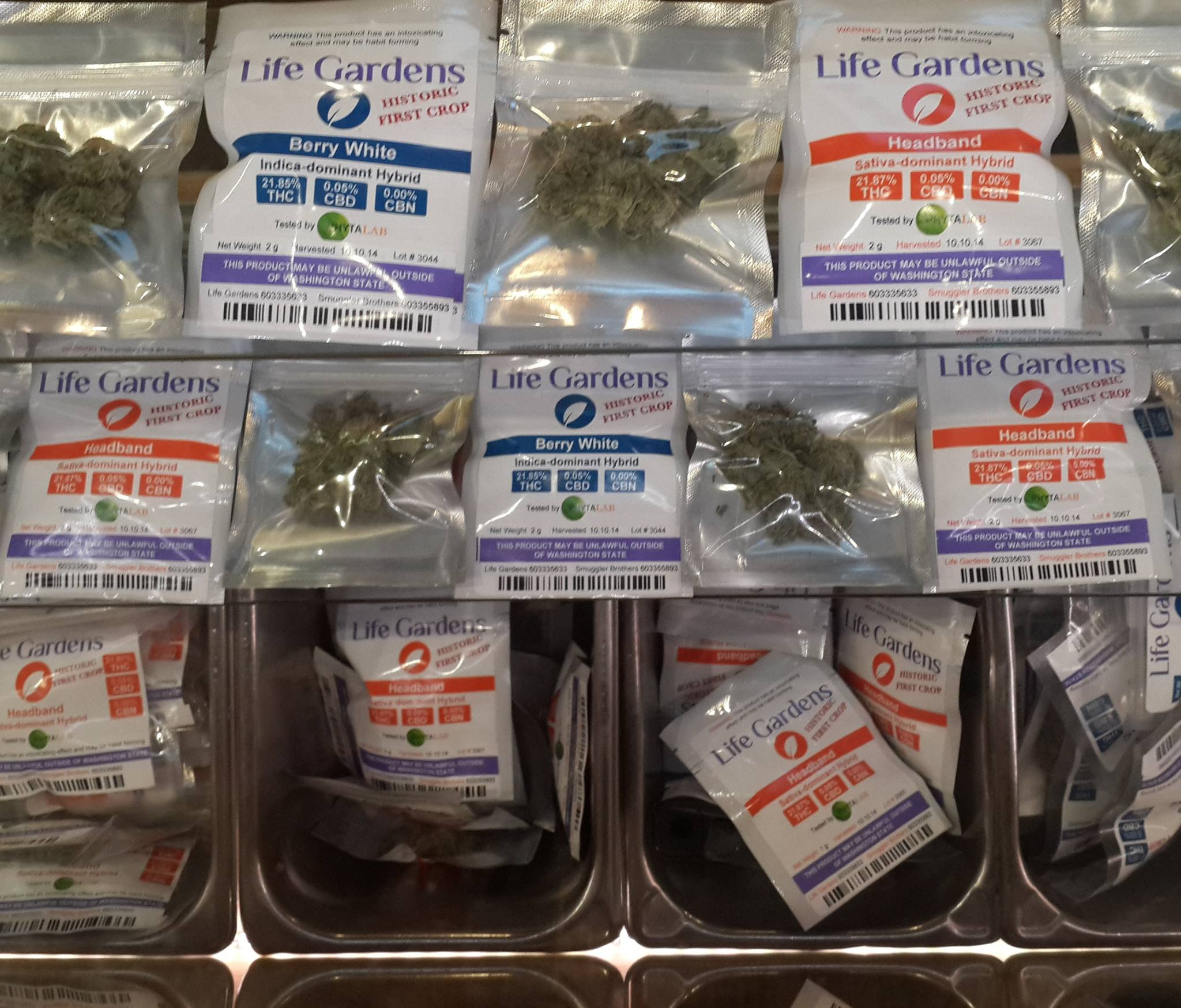 First batch of Life Gardens products for sale