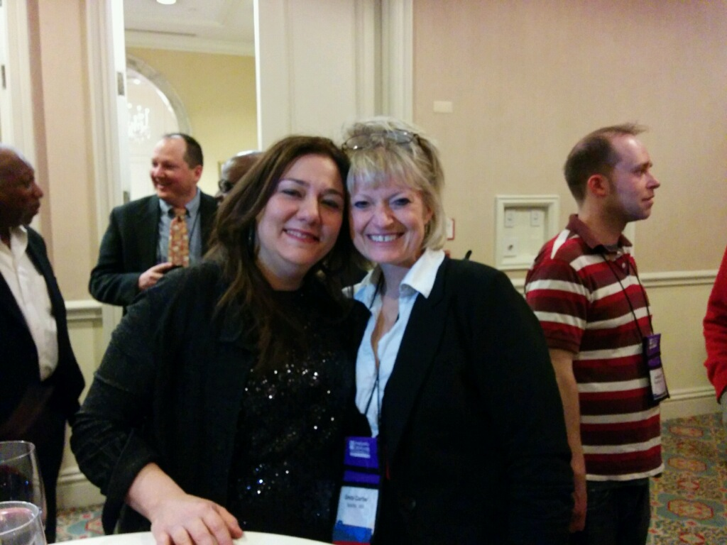 With Steph Sherer of ASA