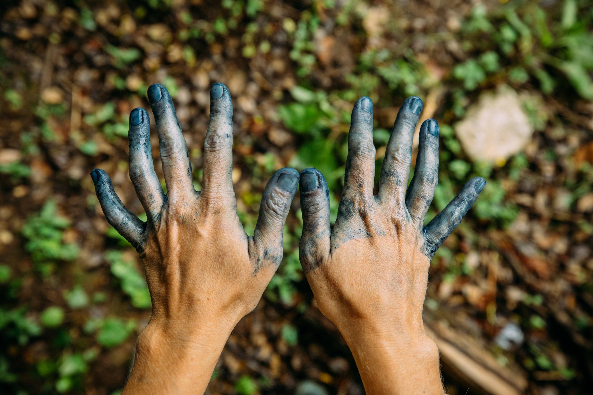 aaron sanders head indigo workshop marfa