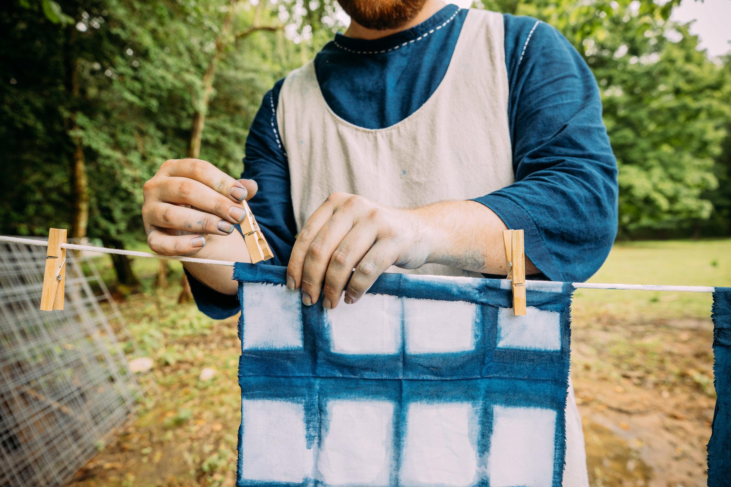 aaron sanders head indigo workshop ellen noel art museum