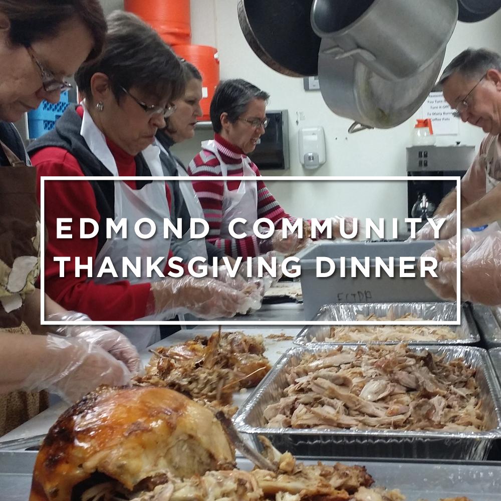 Edmond Community Thanksgiving Dinner