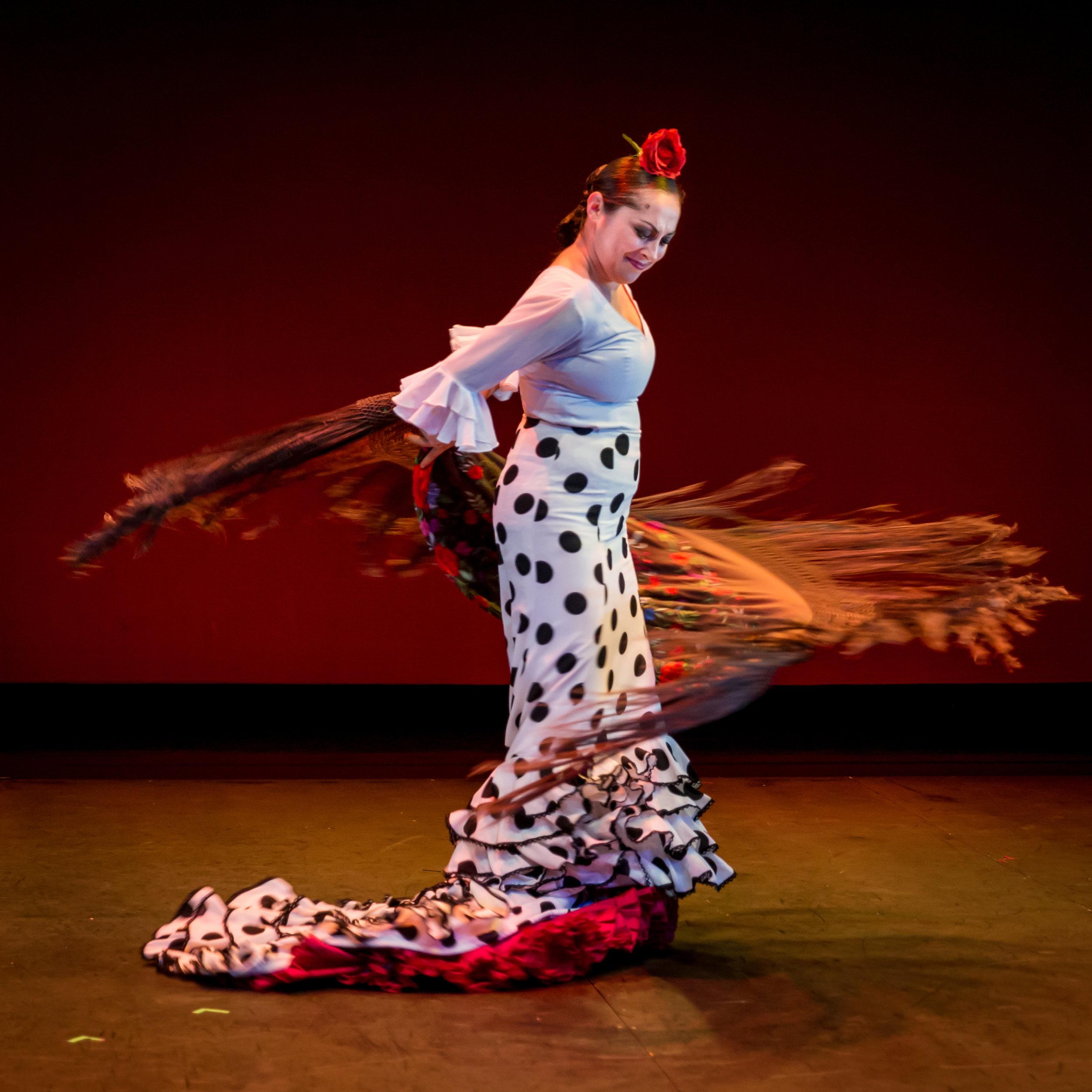 "Cynthia Sanchez from Theatre Flamenco of San Francisco Spring Season ""Somos"""