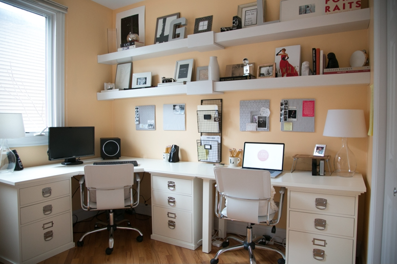 AFTER: Lauren's Dreamy Home Office