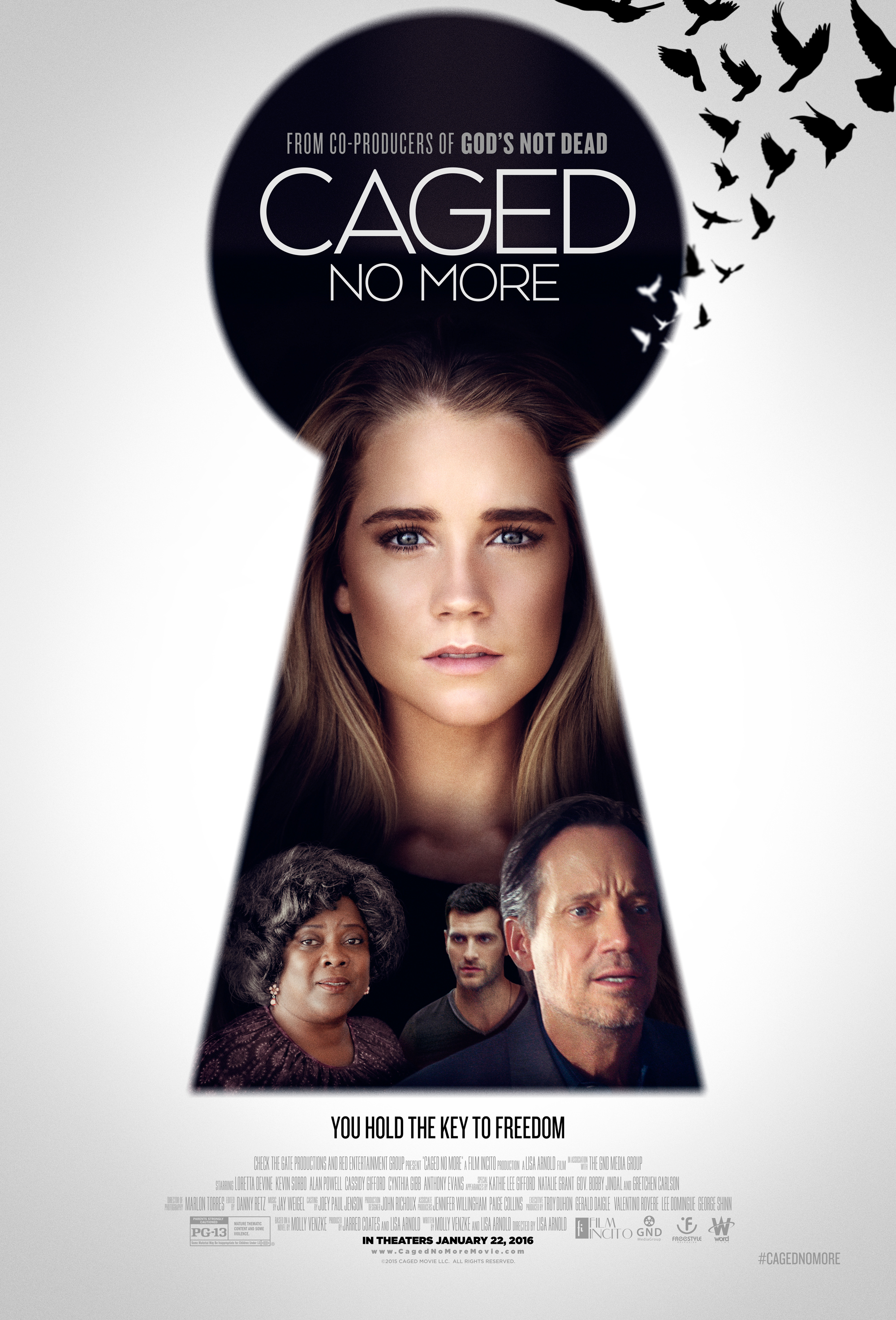 Human Trafficking - Showing clips or the entire film of Caged No More, we will discuss the dangers of human trafficking. Based on the true story of one girls journey into a world no child should ever see.This is a relevant message for todays society with protecting yourself while using the internet and being aware of your surroundings at all times.This film was rated PG-13 and was intended for family discussions.