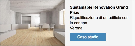 Il progetto di riqualificazione premiato con il premio Sustainable Renovation Grand Prize