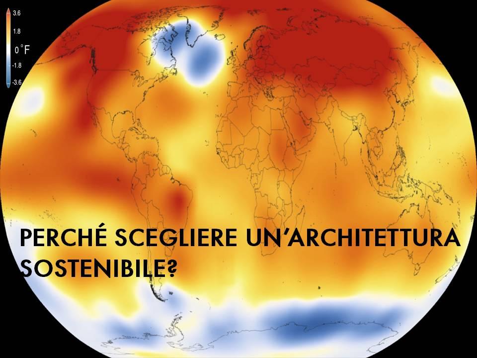 Rappresentazione della temperatura globale nel 2015 (Fonte: NASA/GISS)