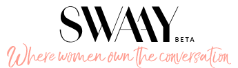 SWAAY is dedicated to changing the narrative by sharing the stories of women who are challenging the norms and giving them a platform to participate in more meaningful conversations.