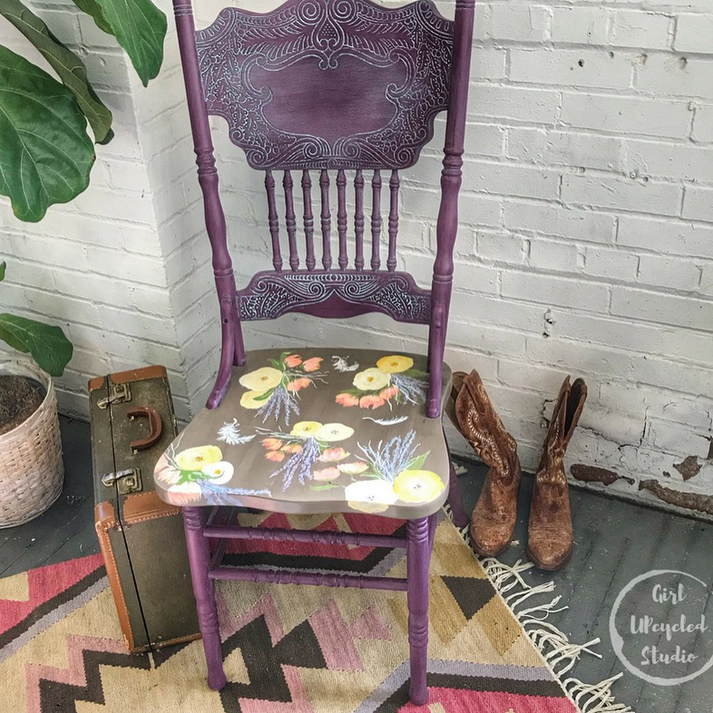 Happy Chairs by Girl UPcycled