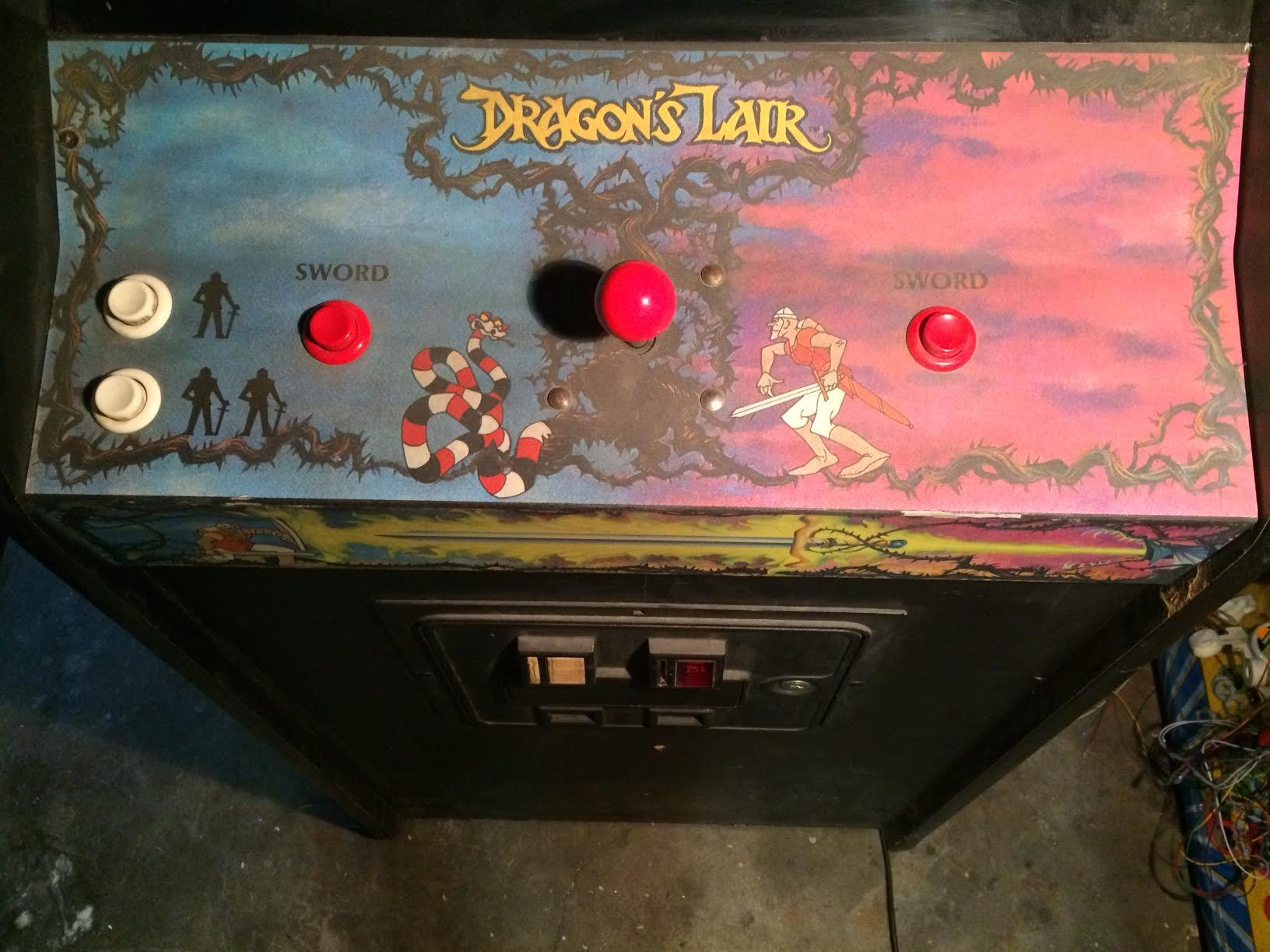 Brandon's Dragon's Lair CPO, pre the Magic Eraser w/ IPA ritual.