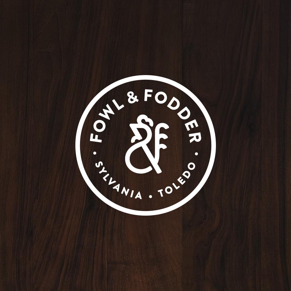 Fowl & Fodder Logo Design