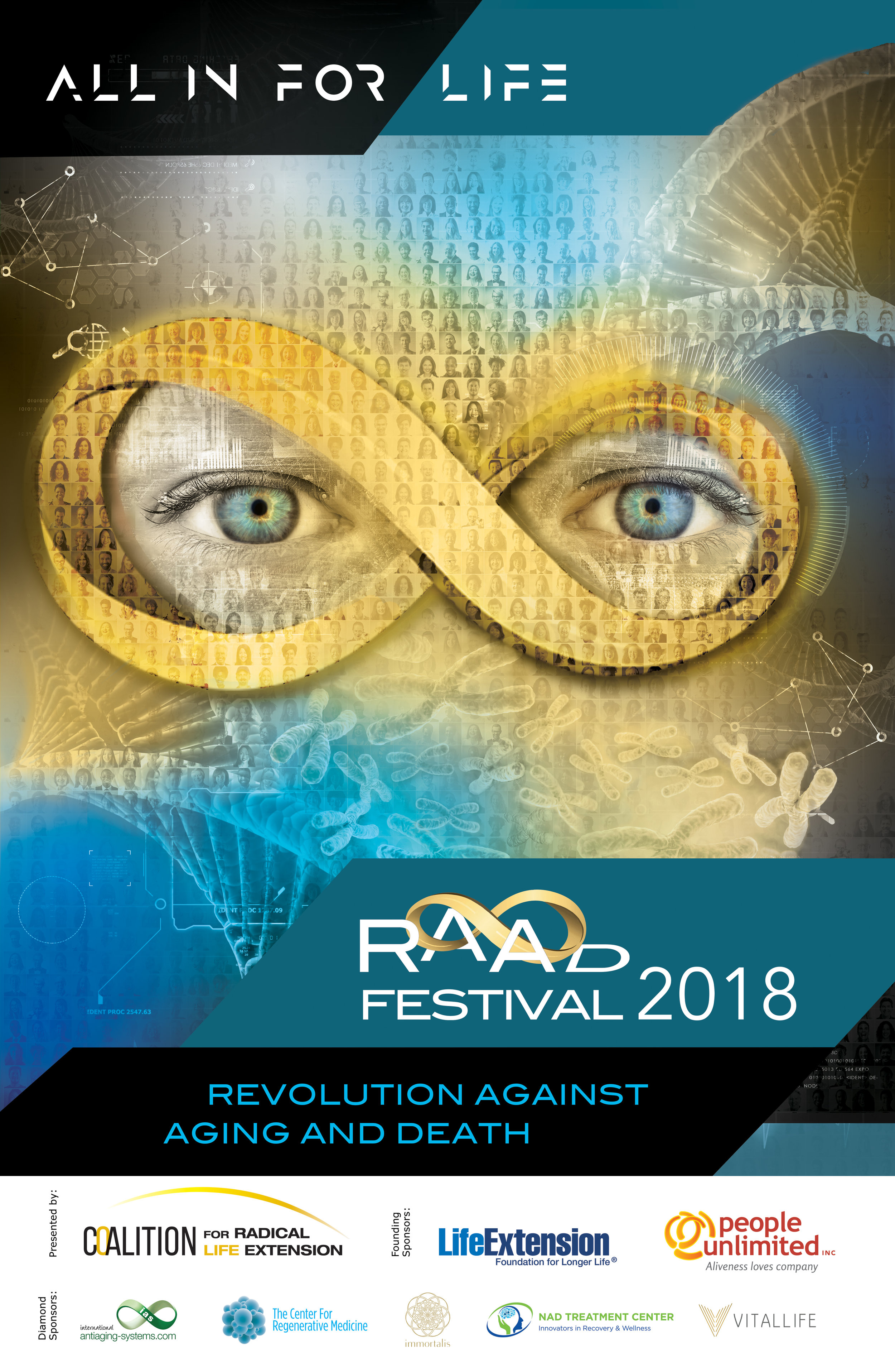 2018 RAADfest Official poster -