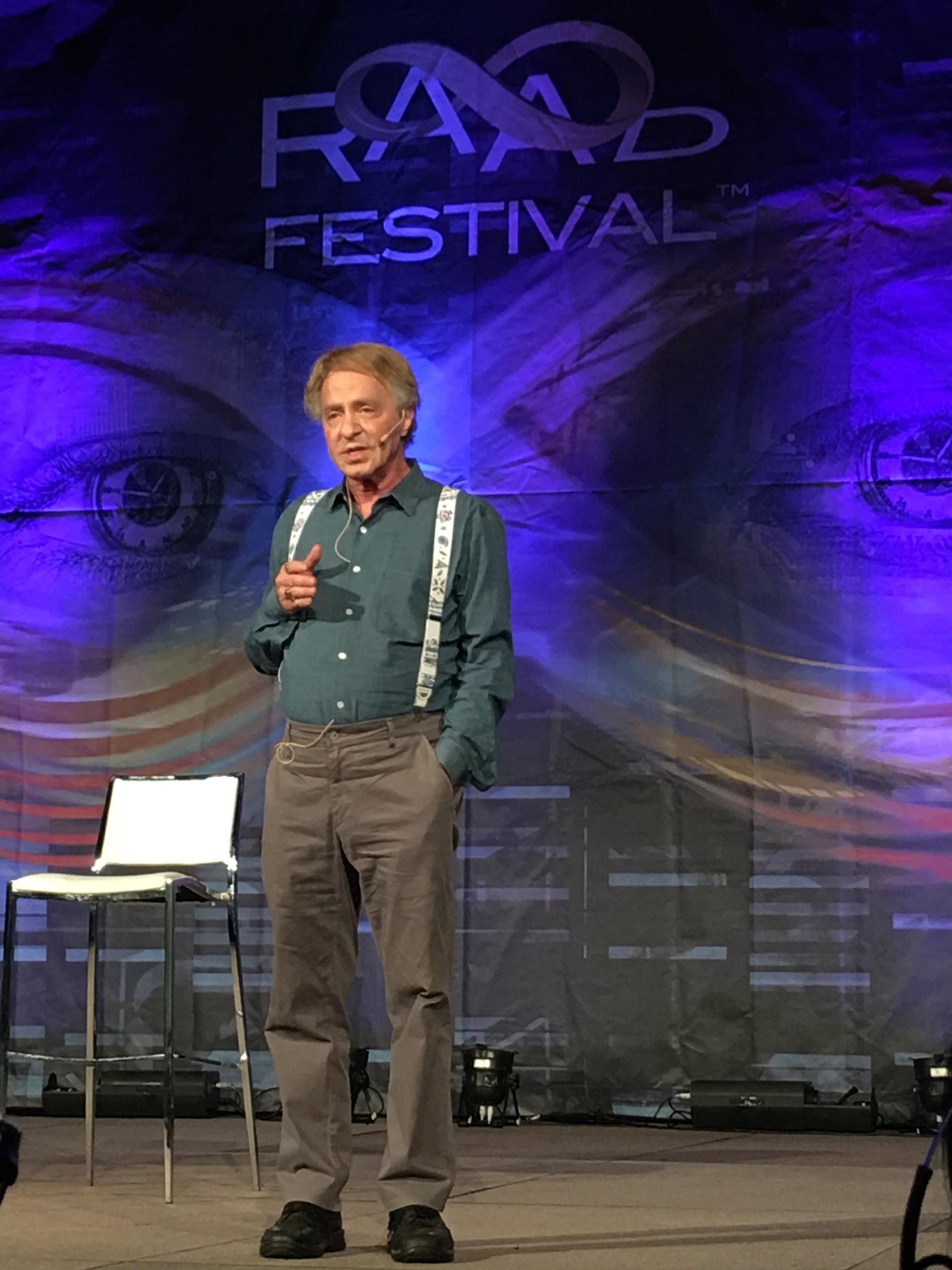 Ray Kurzweil, RAADfest 2018.