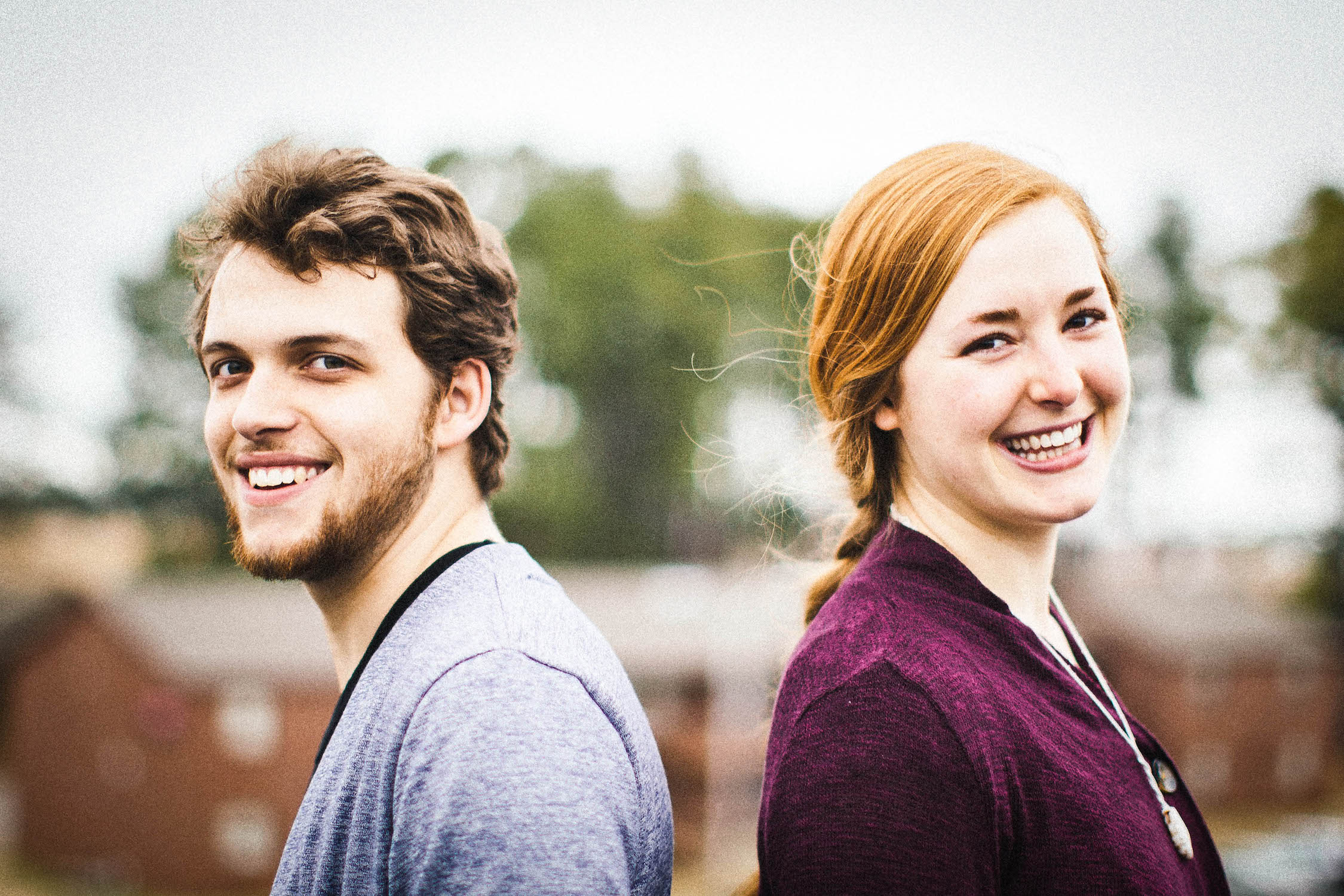 Lead vocalists Thomas Griffith and Kelsie Edgren