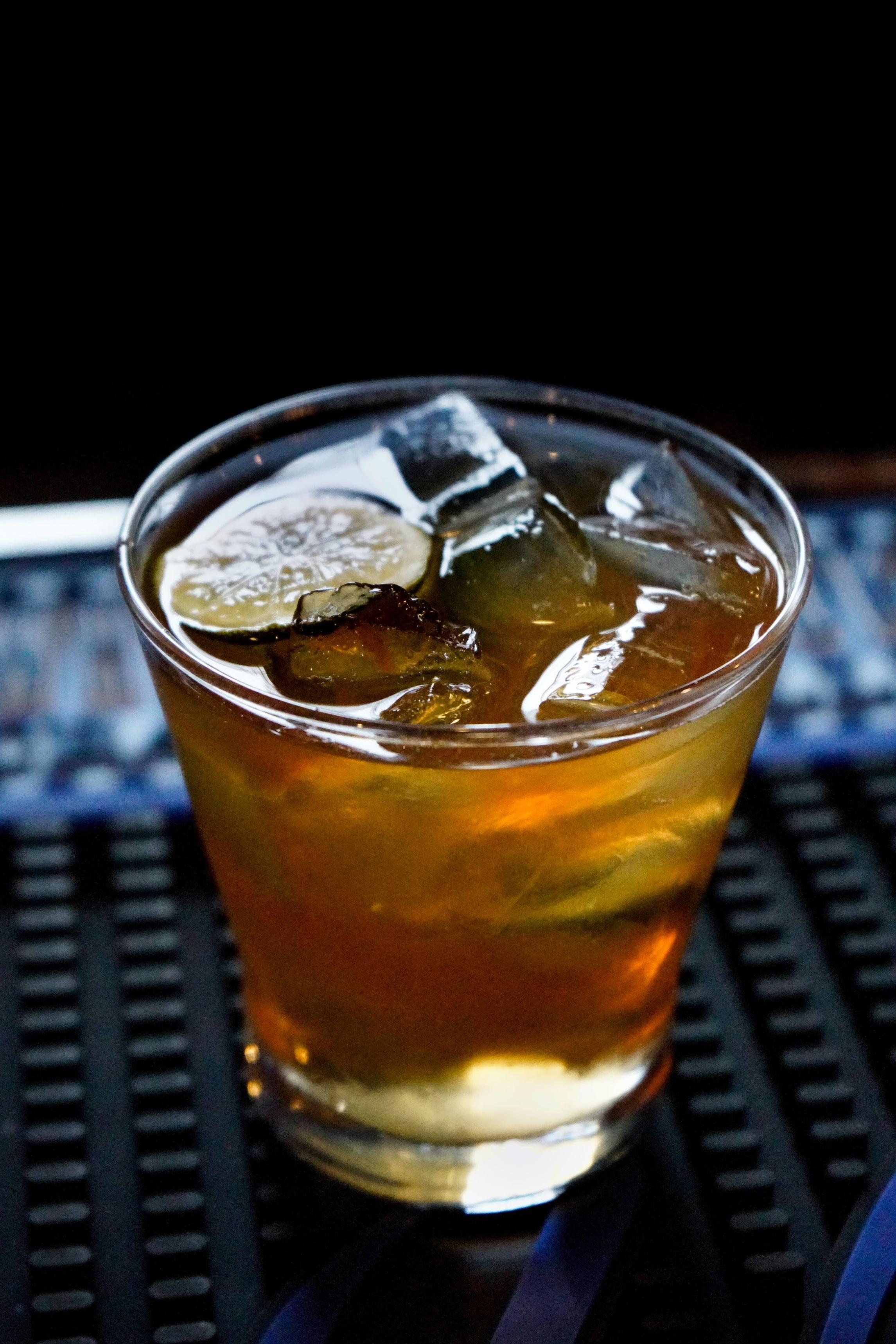 The Murphy Twist, made with Larceny bourbon