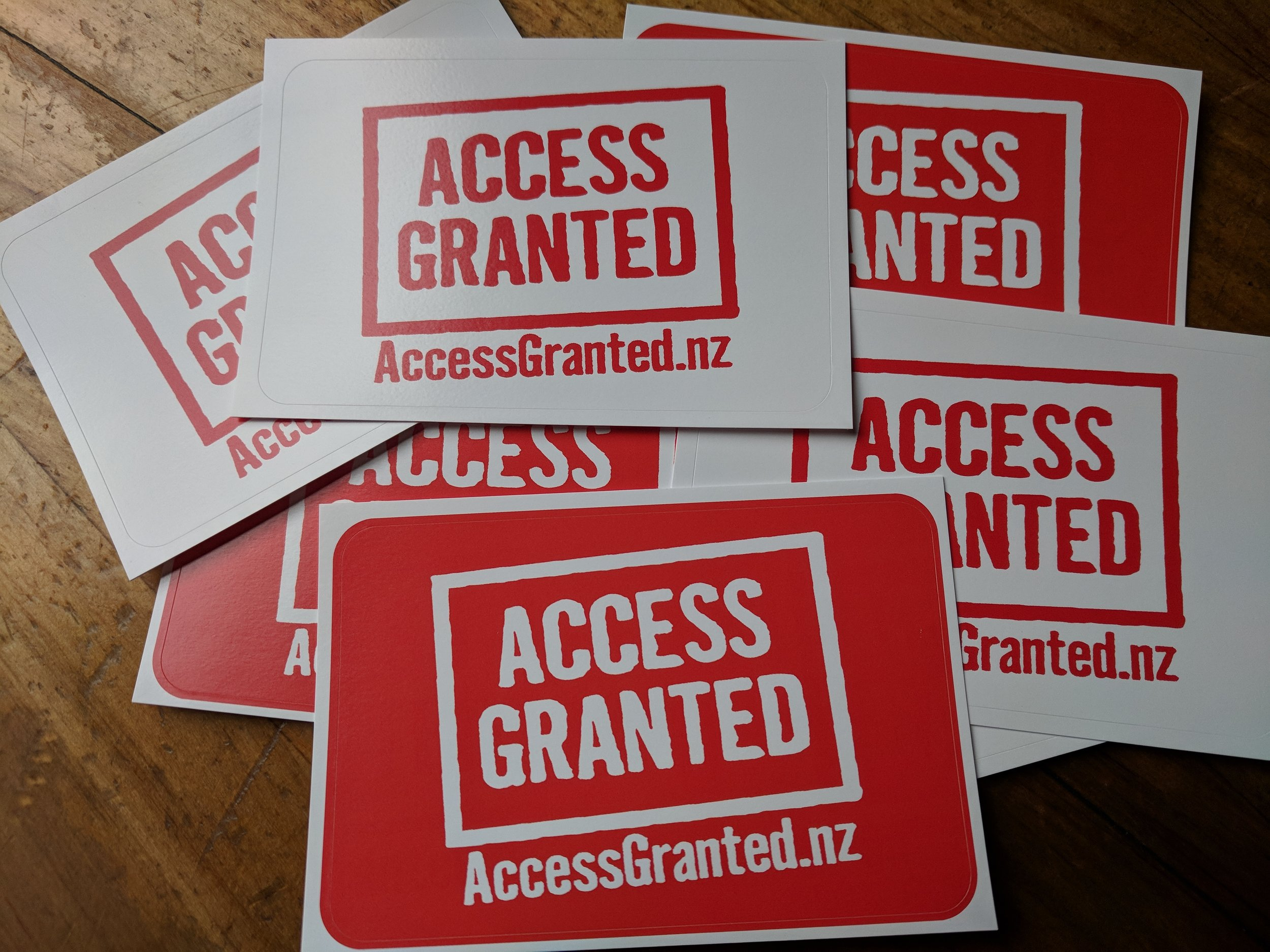 Access Granted NZ stickers.jpg
