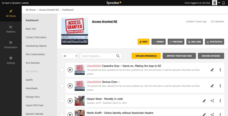 AG Spreaker screen.png