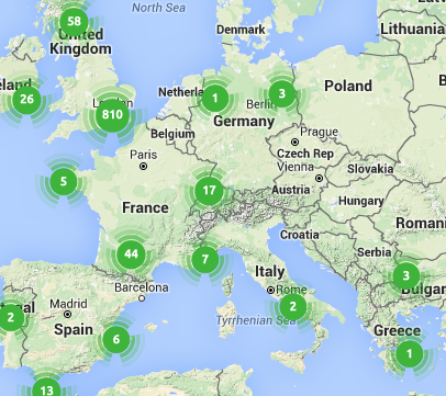 Trustedhousesitter listings in Europe!