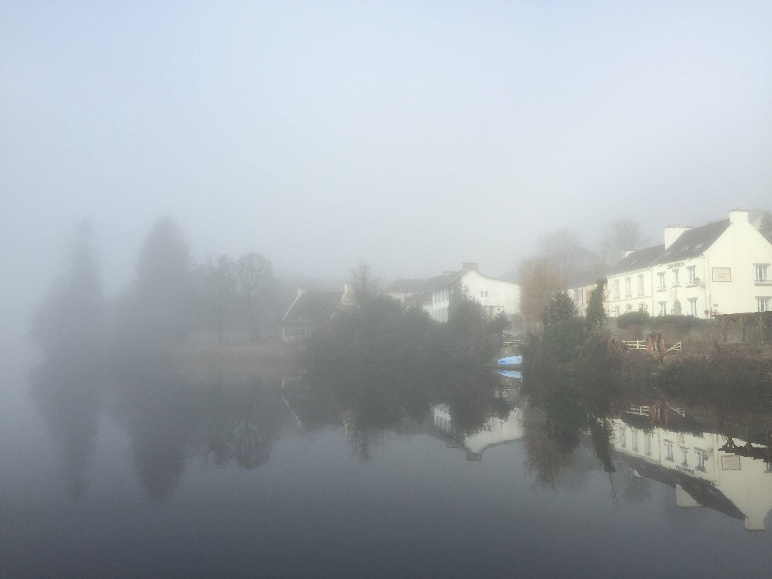 Misty Lake Huelgoat, Brittany France