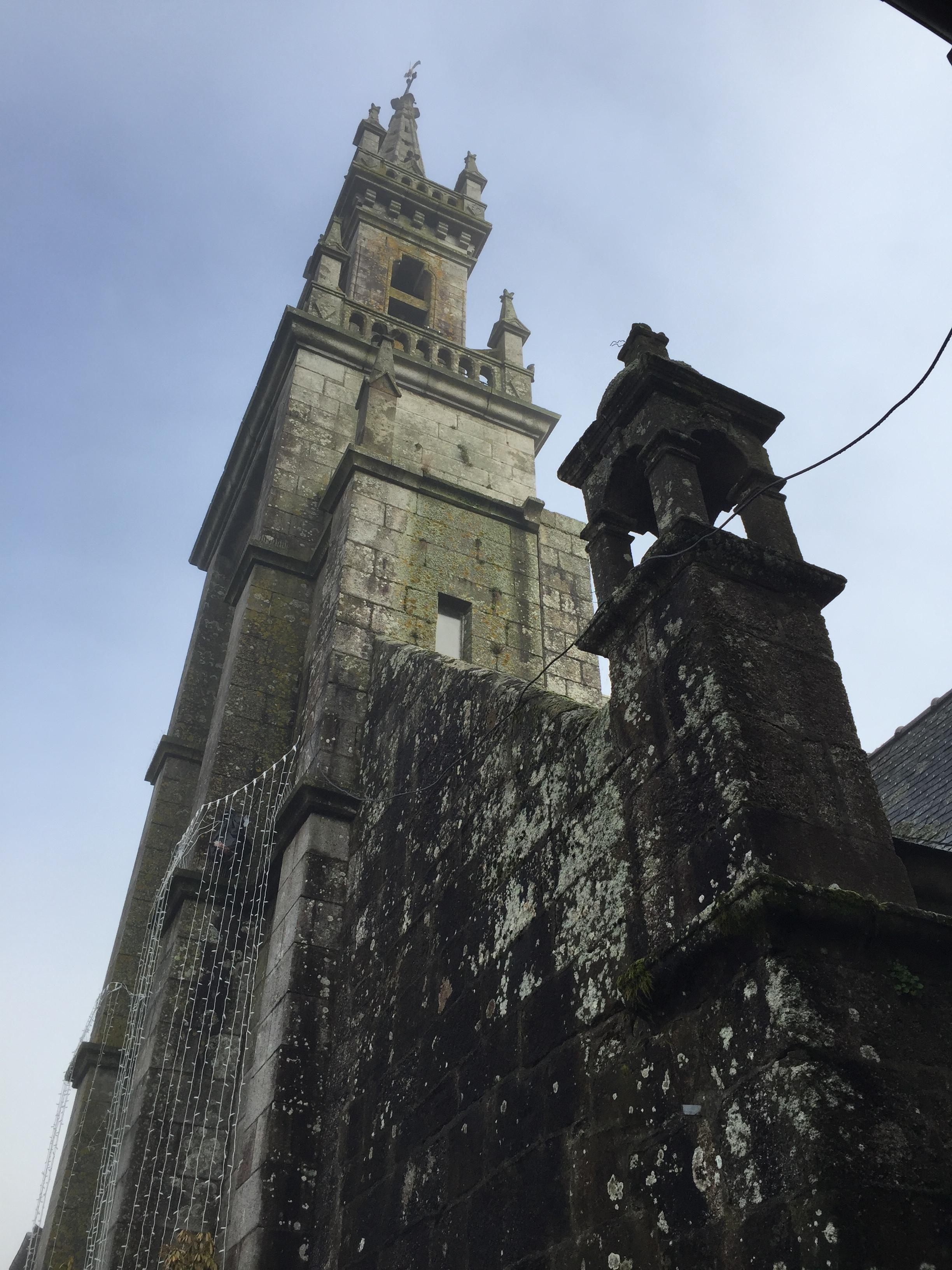 Huelgoat Church, Huelgoat France (Brittany)
